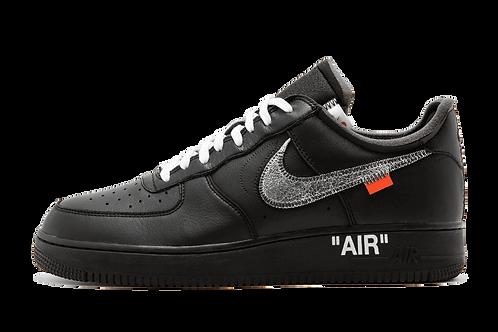 Nike x Off White Air Force 1 07 Virgil x MoMa BLACK