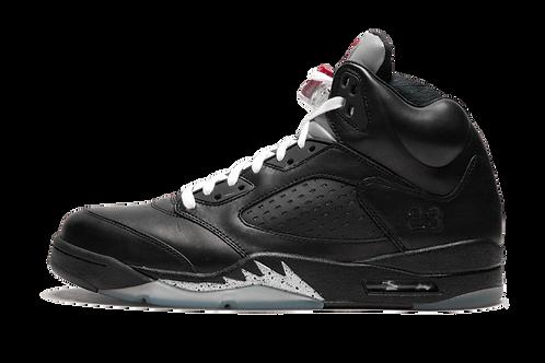 Air Jordan 5 Retro Premio Bin 5 BLACK/BLACK-METALLIC SILVER