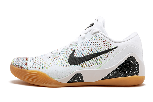 Nike Kobe 9 Premium HTM WHITE/BLACK-MULTI-COLOR