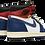 Thumbnail: Air Jordan 1 Retro HI NRG / UN Union - Storm Blue WHITE/STORMBLUE-VARSITY RED