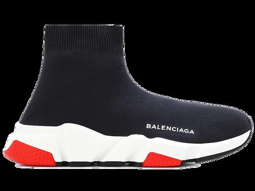 BALENCIAGA SPEED RUNNER MID BLACK/RED