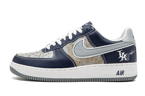 Nike Air Force 1 Mr. Cartoon Hyperstrike MIDNIGHT NAVY/SILVER-WHITE