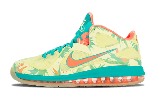 Nike Lebron 9 Low Arnold Palmer LIME/NEW GREEN-PINK