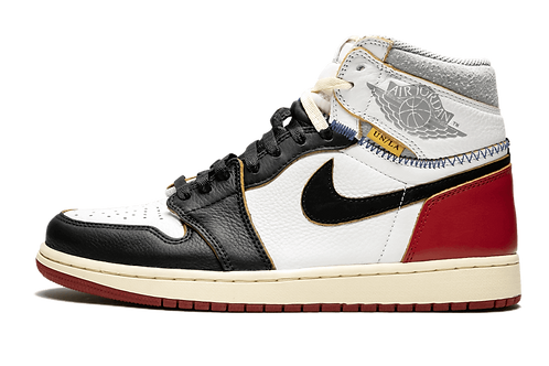 Air Jordan 1 Retro HI NRG/UN Union - Black Toe WHITE/BLACK-VARSITY RED