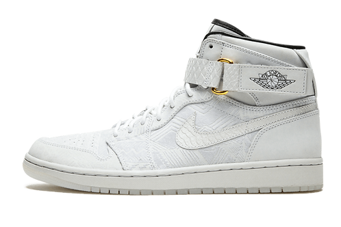 Air Jordan 1 High Strap Just Don WHITE/BLACK