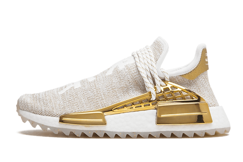 Adidas x Pharrell Williams NMD Human Race Holi MC Gold Happy