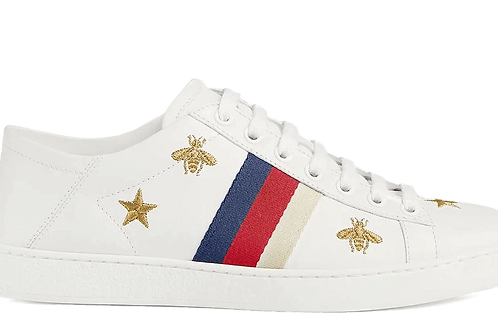 Gucci Ace with bees and stars