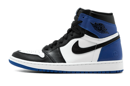 Air Jordan 1 X Fragment BLACK/SPORT ROYAL-WHITE