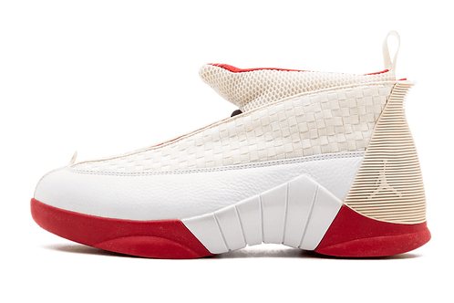Air Jordan 15 History of Flight WHITE/RED
