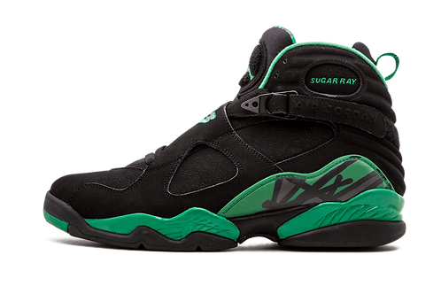 Air Jordan 8 Retro Sugar Ray BLACK/STEALTH-CLOVER