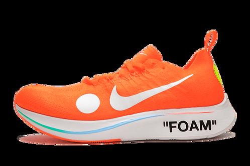 Nike x Off-White Zoom Fly Mercurial Flyknit Orange