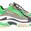 Thumbnail: Balenciaga Triple S green / grey / white