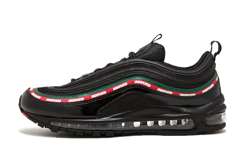 "Nike Air Max 97 OG/UNDFTD ""UNDEFEATED"" BLACK/SPEED RED-GORGE GREEN AJ1986 001"