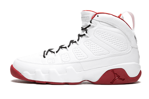 Air Jordan 9 Retro HISTORY OF FLIGHT WHITE/RED