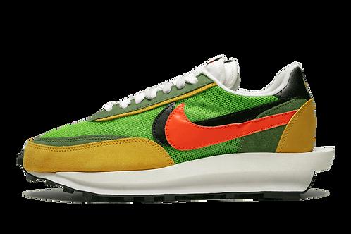Sacai x Nike LDWaffle Trainer Green Gusto/Varsity Maize
