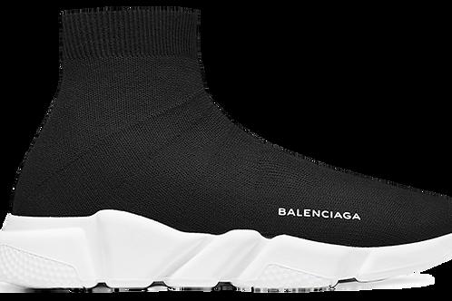 BALENCIAGA SPEED RUNNER MID BLACK/WHITE