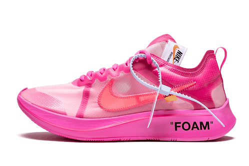 Nike The 10 x Off White Zoom Fly TULIP PINK / RACER PINK