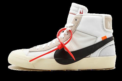 Nike x Off White Blazer Mid WHITE