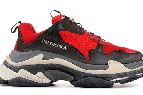 Balenciaga TRIPLE S TRAINERS - RED / Black