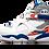 Thumbnail: Air Jordan 8 Retro Q23 Quinten Richardson PE WHITE/BLUE RIBBON-ORANGE FLASH