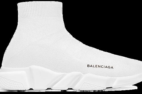 BALENCIAGA SPEED RUNNER MID WHITE