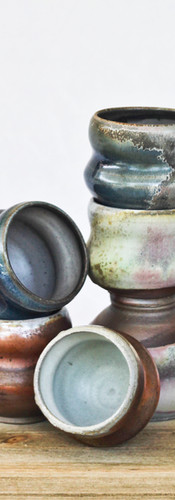 Wood-fired cups