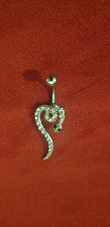 Piercing serpent 🐍 strass