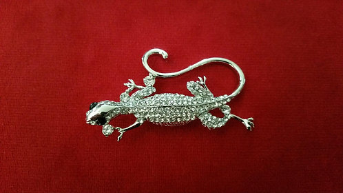 Broche salamandre