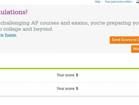 How to score a 5 for AP Physics and AP Calculus?