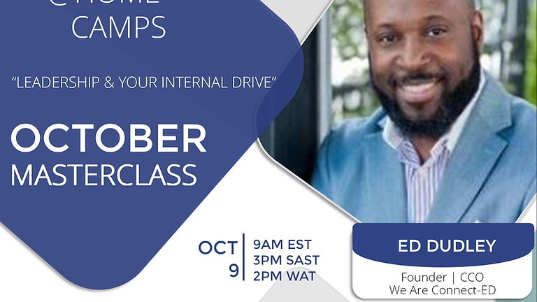 FREE Masterclass with Ed Dudley Founder | CCO of We Are Connect-ED