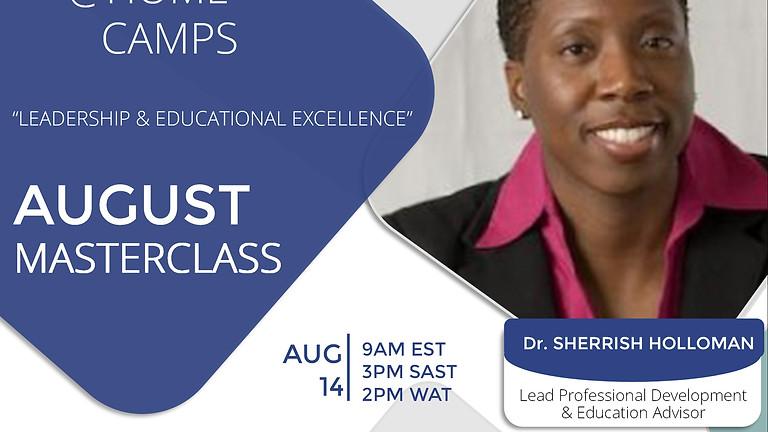 FREE Masterclass with Dr. Sherrish Holloman | Lead Professional Development & Education Advisor