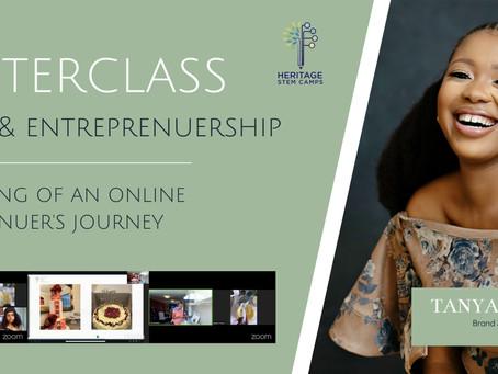 Foodpreneurship with Tanyani Shisana Recap