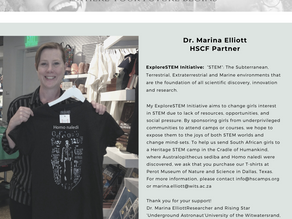 Dr. Marina Elliott partners with HSCF to support girls in STEM