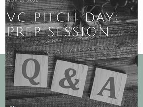 Prep Venture Capital Pitch Day Session NOV 28