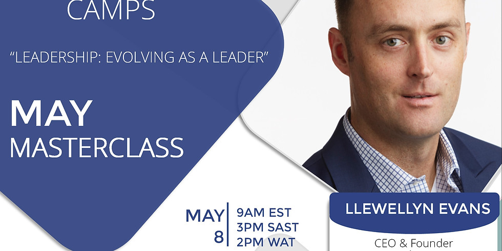 FREE Masterclass with Llewellyn Evans CEO & Founder Nexus Resilience Group