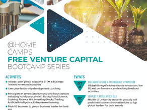 Are you getting ready for the FREE Venture Capital STEM Bootcamp Series?