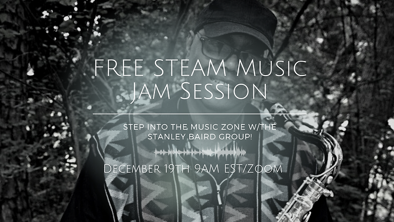 FREE Holiday Music & Tech Jam Session w/The Stanley Baird Group