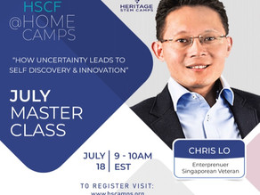 HSCF Masterclass with Chris Lo!