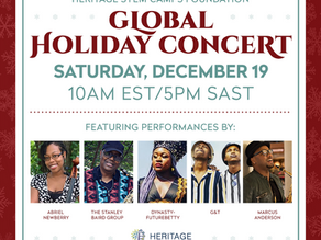 FREE: HSCF Global Holiday Music Concert