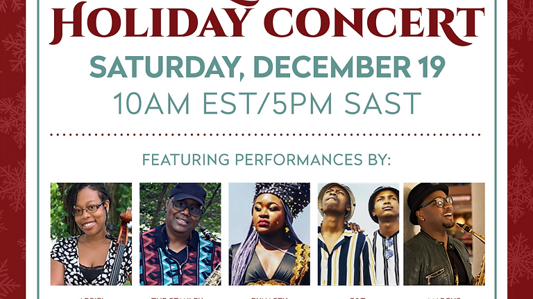 FREE HSCF Global Holiday Concert