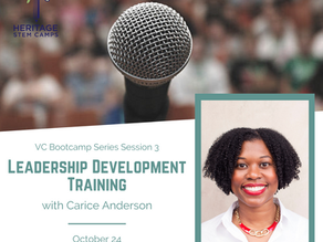 VC Bootcamp Series: Session 3 Leadership Development Training