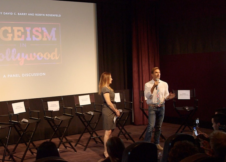 Producers David C Barry and Robyn Rosenfeld