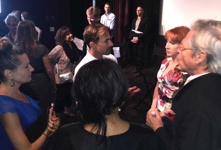 David C Barry, Kathy Griffin, Michael Lindsay-Hogg, Lynn Whitfield, Jenny Karl