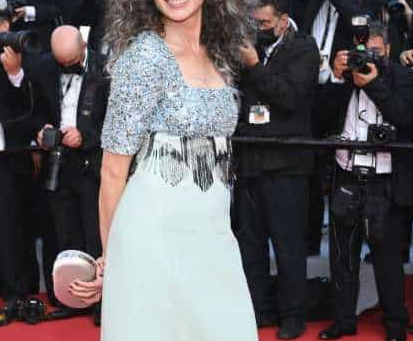 Andie MacDowell Goes Gray at Cannes, Flexes on Entire Riviera