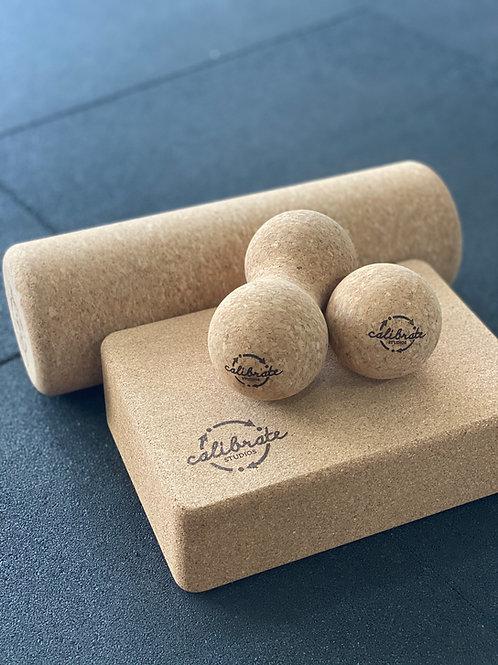 cork therapy set