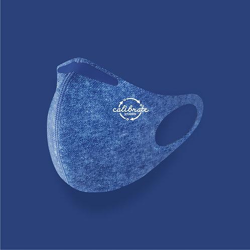 calibrate reusable face mask (denim)