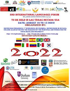 Flier 2022 Intyernational Languages Foru
