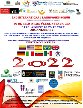 Flier 2022 Intyernational Languages Foru