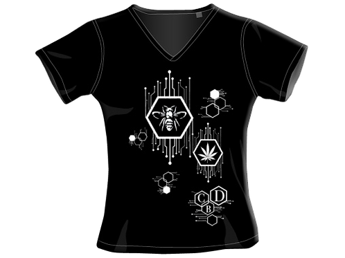T-Shirt - Black - Donna