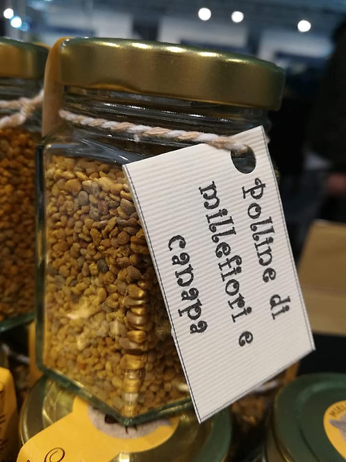 Polline di Millefiori e di Canapa
